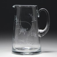 William Yeoward Country Wisteria Straight Sided Pitcher 2 Pint
