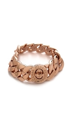 Marc By Marc Jacobs Classic Marc Turnlock Katie Bracelet Rose Gold