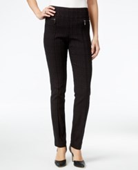 Styleandco. Style Co. Plaid Printed Skinny Pants Only At Macy's Distressed Plaid