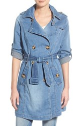 Women's Steve Madden Denim Trench Coat
