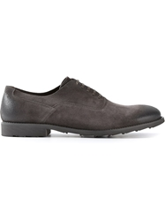 Dolce And Gabbana Distressed Oxford Shoe Grey