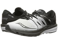 Saucony Zealot Iso 2 White Black Silver Men's Running Shoes