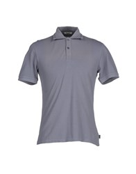 Geox Topwear Polo Shirts Men Slate Blue