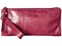 Hobo Vida Carmine Clutch Handbags Red