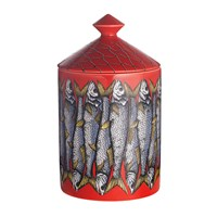 Fornasetti Scented Candle Sardine Rosso