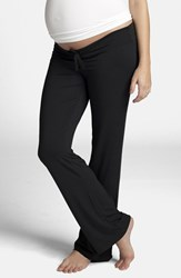 Women's Ingrid And Isabel Maternity Lounge Pants Black