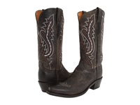 Lucchese M5001 Anthracite Black Cowboy Boots Metallic