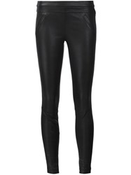 Rta 'Sonia' Leather Trousers Black