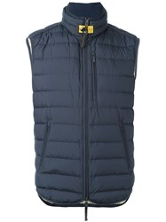Parajumpers Padded Vest Blue