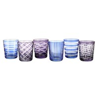 Pols Potten Tumbler Cobalt Set Of 6