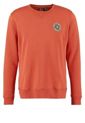 Japan Rags Guster Sweatshirt Brique Orange