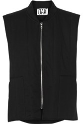 Oak Cotton Vest Black