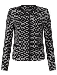 Gerry Weber Aztec Jacket Black Ecru