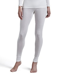 Hanro Silk Leggings Pale Cream
