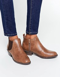 Head Over Heels By Dune Piro Tan Chelsea Boots Tan
