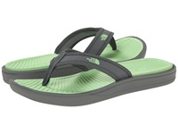 The North Face Base Camp Lite Flip Flop Sedona Sage Grey Paradise Green Women's Sandals Gray