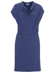 Betty And Co. Cap Sleeved Dress Crown Blue