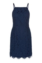 Oh My Love Lace Bodycon Dress By Navy Blue