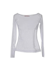 'Oh My Corset' 'Oh My Corset ' Long Sleeve T Shirts White