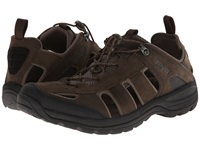 Teva Kimtah Leather Sandal Turkish Coffee Men's Shoes Brown