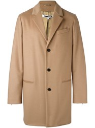 Mcq By Alexander Mcqueen Single Breasted Coat Nude And Neutrals