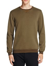 Atm Anthony Thomas Melillo Elbow Patch Sweatshirt Army