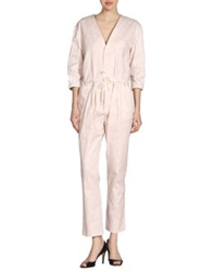 Girl By Band Of Outsiders Pant Overalls Light Pink