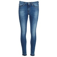 Boss Orange Women's J10 Florida Frayed Cuff Jeans Blue
