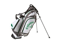 Callaway Hyper Lite 5 Stand Bag White Charcoal Green Athletic Sports Equipment