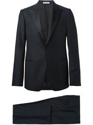 Armani Collezioni One Button Blazer Black