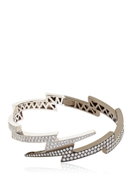 Anita Ko Over Spike Bracelet Black White