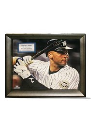 Steiner Sports Derek Jeter Game Used Batting Glove Collage Derek Jeter Game Used Batting Glove Collage