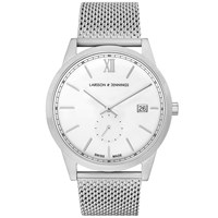 Larsson And Jennings Saxon 39Mm Watch White