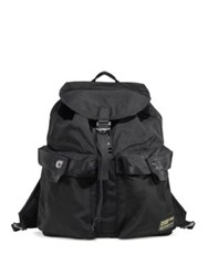 Polo Ralph Lauren Medium Drawstring Backpack Black