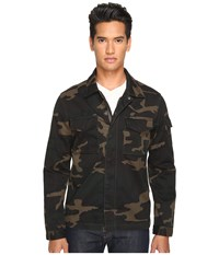 Jack Spade Camo Riverton Shirt Jacket Camo Men's Coat Multi