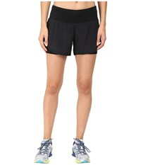 New Balance Impact 4 2 In 1 Shorts Black Women's Shorts