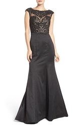 La Femme Women's Embellished Mermaid Gown