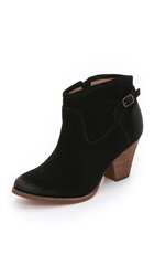 Splendid Rebekah Suede Booties Black