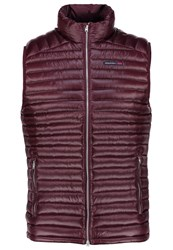 Abercrombie And Fitch Waistcoat Burg Bordeaux