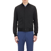 Alexander Mcqueen Glen Plaid Jacquard Jacket Black