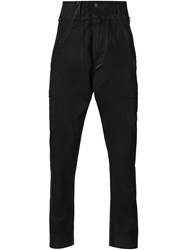 Julius Loose Fit Trousers Black