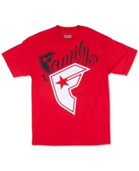 Famous Stars And Straps Famous Stars And Straps Men's Big Wildcat T Shirt Red