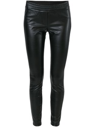 8Pm Skinny Trousers Black