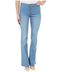 Nydj Farrah Flare Jeans In Palm Bay Crease Palm Bay Crease Women's Jeans Blue