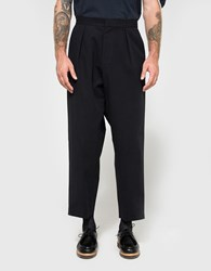 J.W.Anderson Pleat Back Trouser Navy