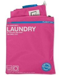 Flight 001 Go Clean Laundry Bag Pink
