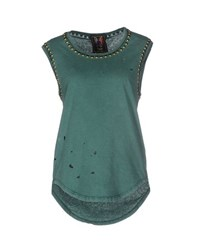 Cycle Topwear Vests Women Green