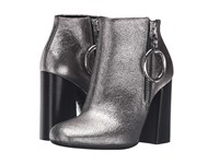 Mcq By Alexander Mcqueen Pembury Harness Boot Light Gunmetal Women's Zip Boots Metallic