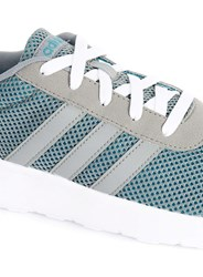 Topman Adidas Grey And White Stripe Trainers