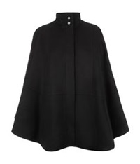 Hugo Boss Wool Cape Black